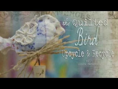 Mixed Media Monday - The Quilted Bird - Spellbinders Media Mixage