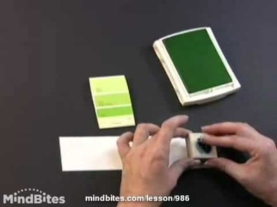 Paint Chip Mini Notebook