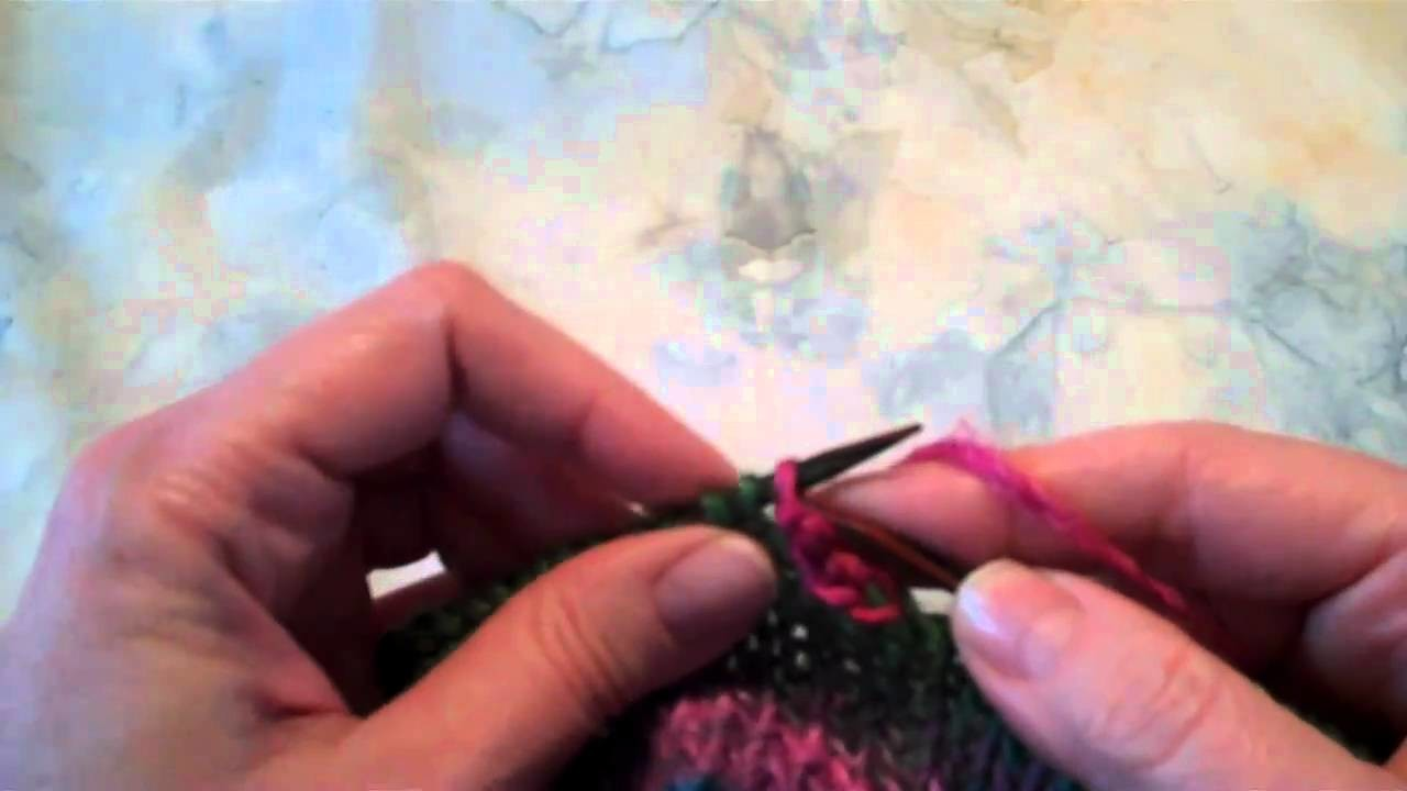 Picot Bind-Off Tutorial
