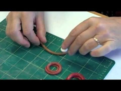 Polymer Clay Split Ring Chain Tutorial - Maggio Missing Link