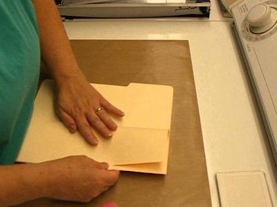 Pt. 1 Tutorial for Slender File Folder Journal