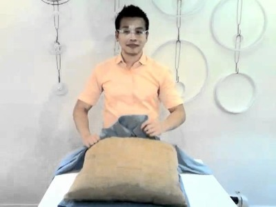 Relevé Design - HOW TO make a men's shirt pillow sham in 6 easy steps