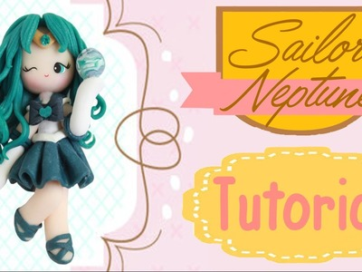 Sailor Neptune Chibi | Polymer Clay Tutorial