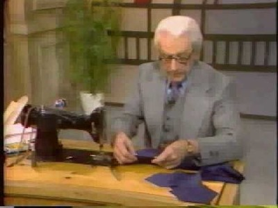 Sew What's New w.George W. Trippon episode-LET'S TIE ONE ON part 2 out of 3