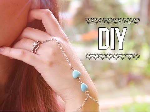 Slave Bracelet. Wrist Ring Bracelet ♥ DIY