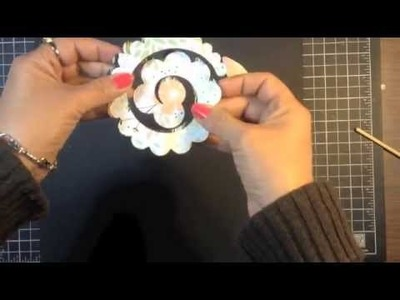 Stampin' Up! Video Tutorial How to Make a Layered Spiral Paper Flower