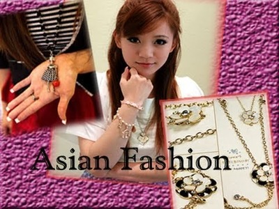 Super Cute Asian Style Jewelry. Accessory Review --- To February