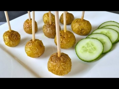 Super Easy Vegan Meatballs - Holiday Party Appetizer Recipe