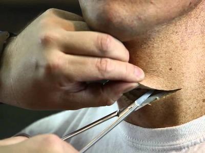 Throat Slash Blood Makeup FX Tutorial - PREVIEW
