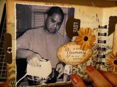 Tim Holtz Paper Bag Mini Album