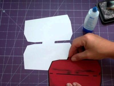 Tool Box shape card-Handy Man Cricut Lite cartridge