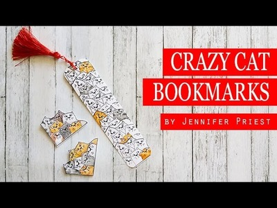 2 Ways to Make a Bookmark - Cat Bookmarks