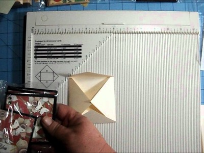 3x3 Notecard Envelope Tutorial Using the Martha Stewart Score Board