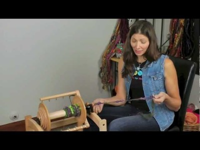 """Carding and Spinning """"Barely a Batt"""" with Steph Gorin"""