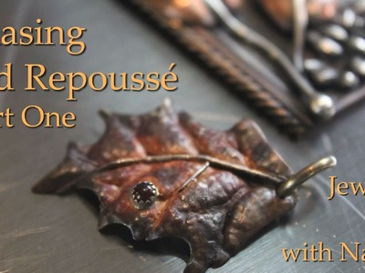 Chasing and Repoussé: Part One | Jewelry Tips with Nancy