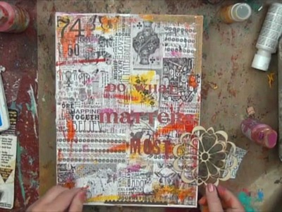 Christy Tomlinson Mixed Media Collage: July 2012 Kit