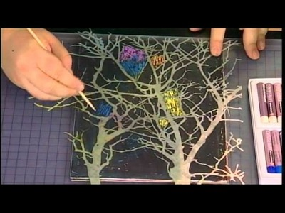 Create Mixed Media Scratch Art with Cray-Pas Oil Pastels
