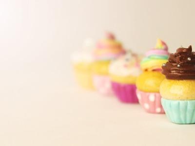 Cupcake Base (No Mold!) │ Polymer Clay Tutorial