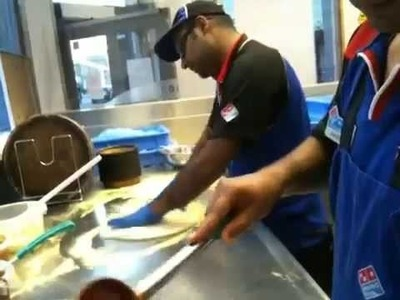 Do you want to Learn How to make Domino's Pizza? from Slaping to toppings. All covered