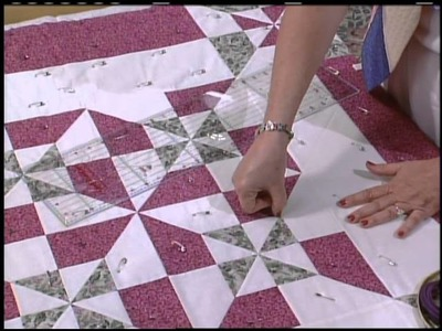 Double Pinwheel Quilt, part 2