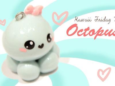 ◕‿‿◕Kawaii Octopus! Kawaii Friday 77 - Tutorial in Polymer clay!