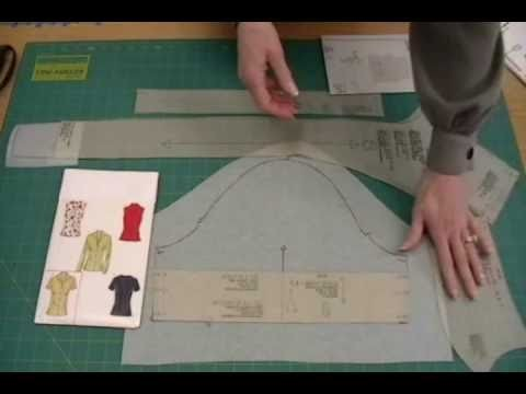Example 1-Blouse-How to fit commercial patterns with Sure-Fit Designs