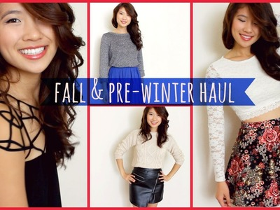 Fall & Pre-Winter Clothing Haul!