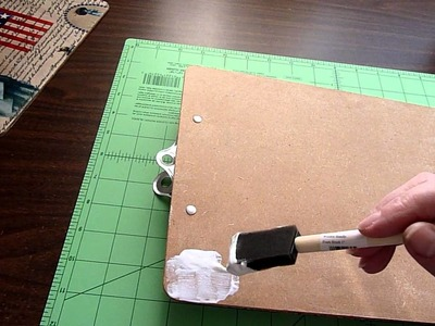 Fancy Fabric Covered Clipboards