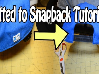 Fitted to Snapback Tutorial