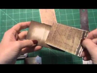 How I made my Toilet Paper mini album