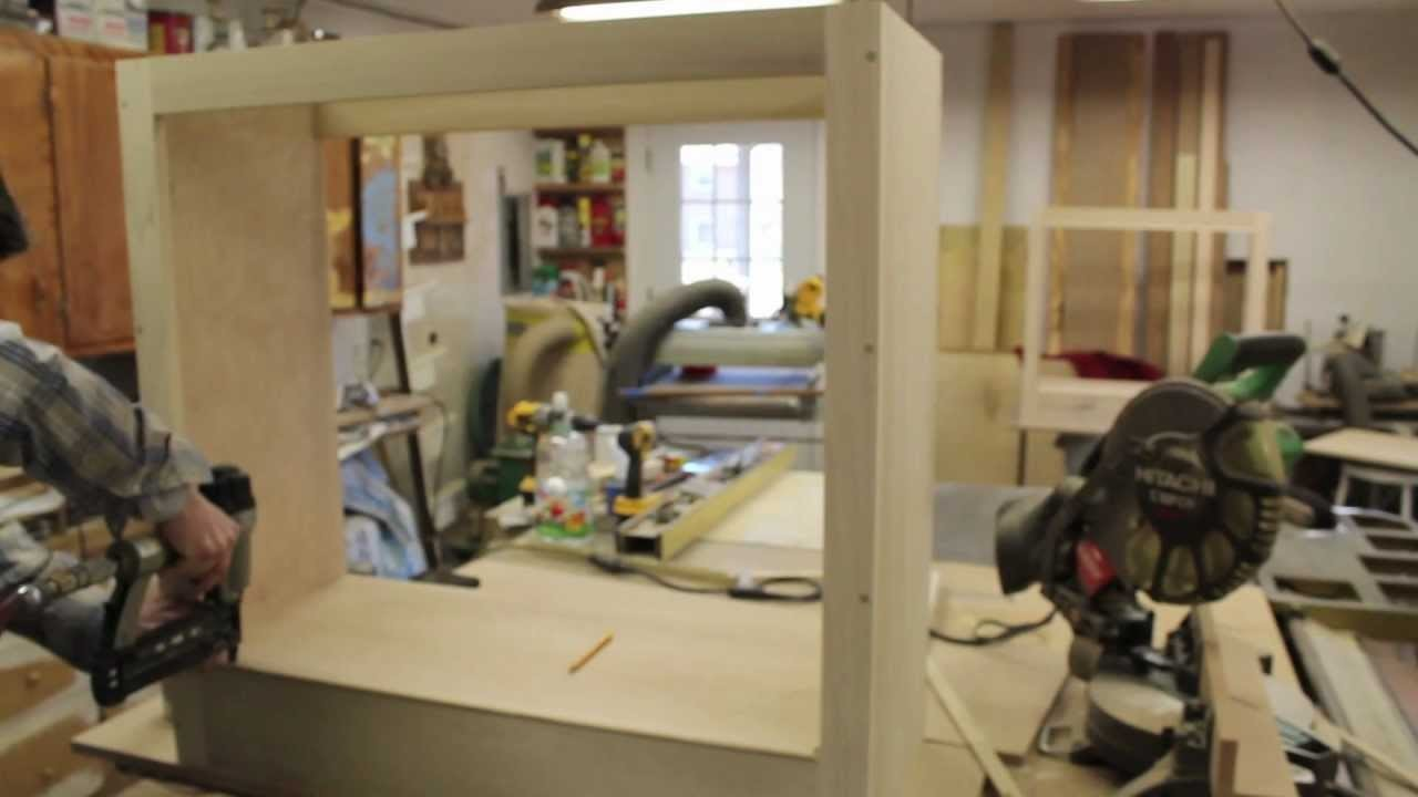 How To Build a Small Cabinet - TV Lift System