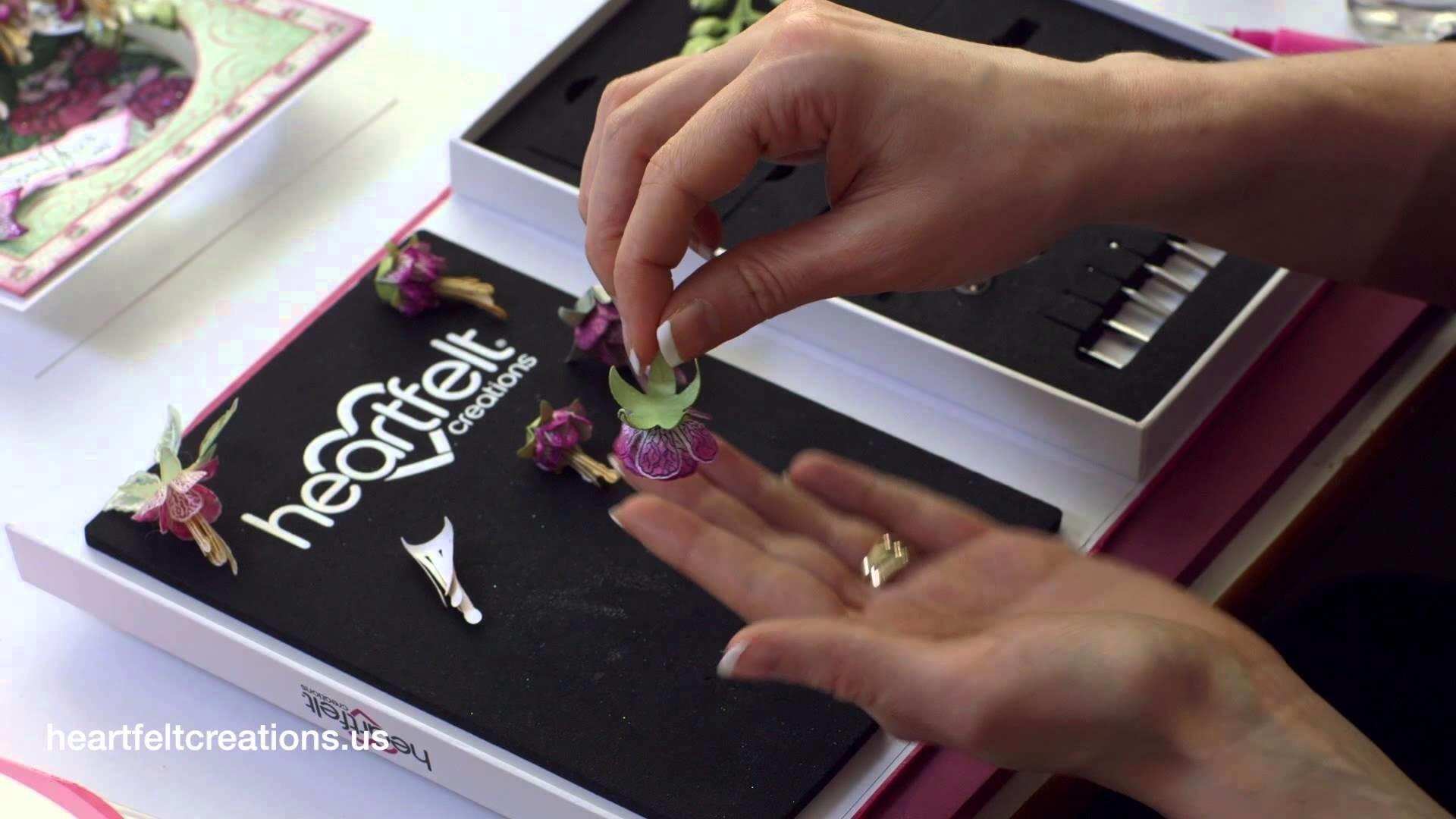 How to Create the Cascading Fuchsia Flower