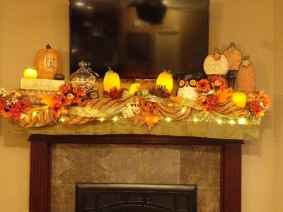 How to decorate your mantle for the holidays