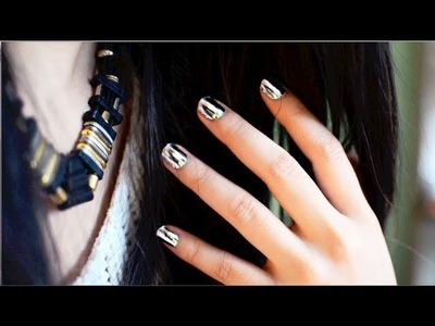 ✂ How To Foil Sticker. Minx Nails