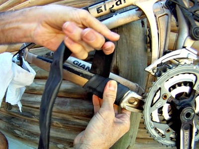 How to Make a Chainstay Protector - the Original Inner Tube Protector