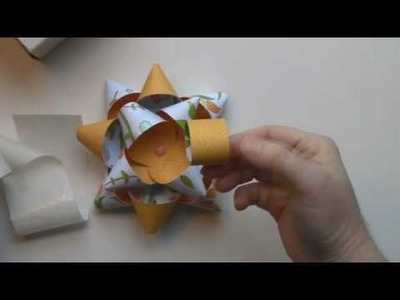 How to make a Gift Package Bow