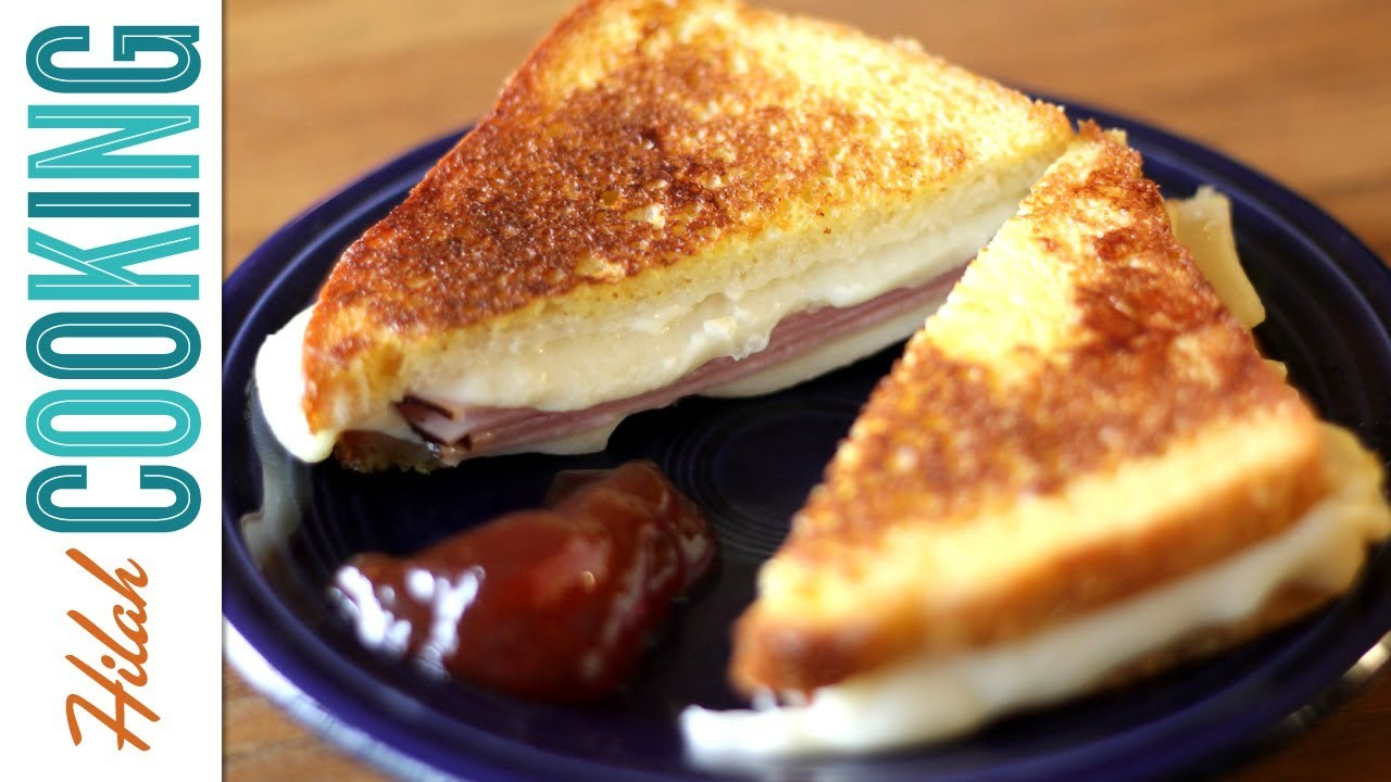 How To Make a Monte Cristo Sandwich    Hilah Cooking