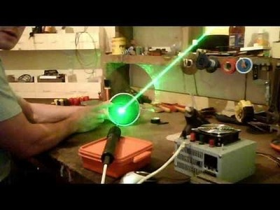 How to make a simple laser show