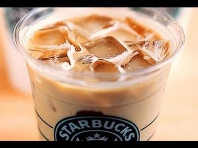 How To Make A Starbucks Iced Vanilla Latte