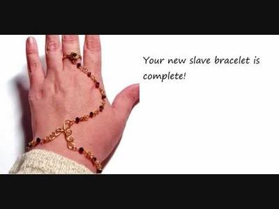 How to Make a Swarovski Crystal Slave Bracelet