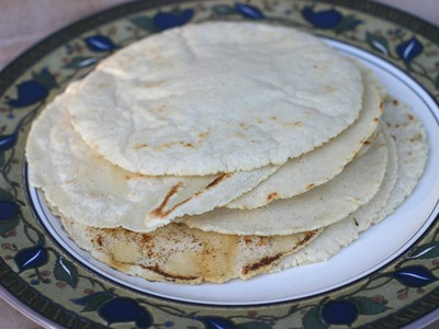 How To Make Homemade Corn Tortillas - It's An Easy And Delicious Recipe by Rockin Robin