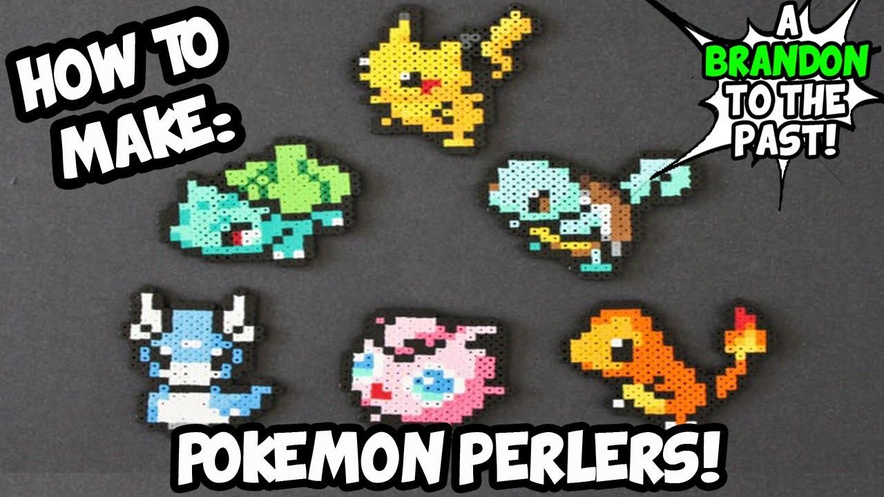 How To Make Pokemon Perler Art!