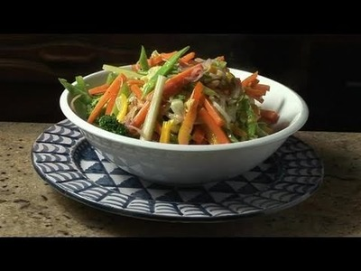 How To Prepare Stir-Fried Vegetables