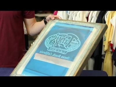 How to Silkscreen a T-Shirt : T-Shirt Design Tips