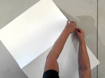 How To Tear Watercolor Paper