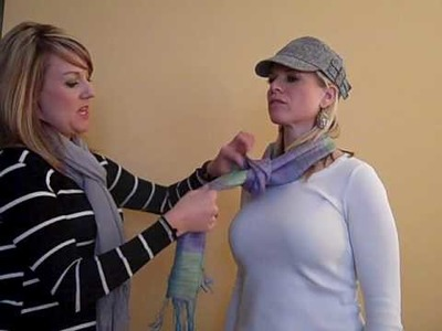 How to Tie a Scarf, Part 5 - Loose Tie