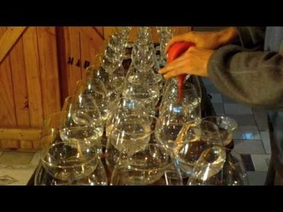 How to tune a glass harp - tutorial video