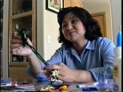 Judy Yeh and Rosalind Wang Explain Chinese Macramé or Knot Tying