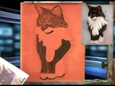 Learn To Paint Your Cat With Darrell Crow