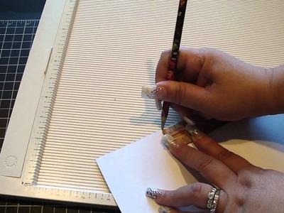 Mini File Box.Tutorial and File Folders